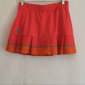 Adidas Tennis Skirt With Built-in Shorts